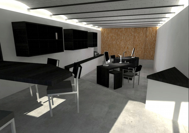 restructuration de basses offices marseille 13005 m j architectes. Black Bedroom Furniture Sets. Home Design Ideas